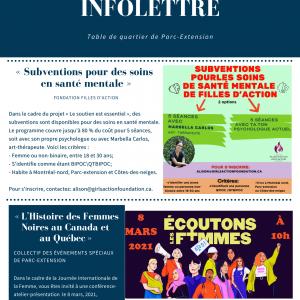 INFOLETTRE (02-03-2021)
