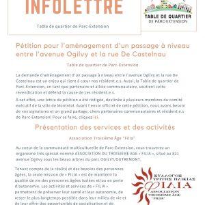 INFOLETTRE (08-02-2021)