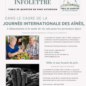 INFOLETTRE (27-09-2021)